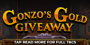 Gonzo's Gold Giveaway